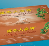 Gingko Ginseng Extract 30x10ml